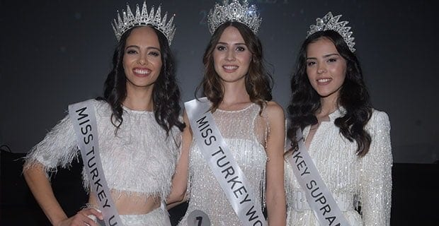 Miss Turkey 2019'de Kraliçe Belli Oldu