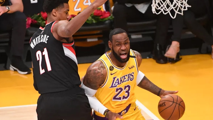 NBA'de Lakers'ı LeBron James de kurtaramadı