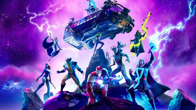 Fortnite Sezon 4 ve Marvel Knockout Super Series